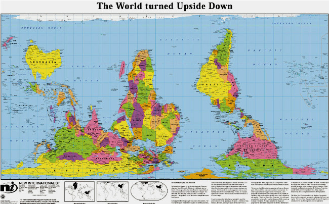 Upside Down map 2