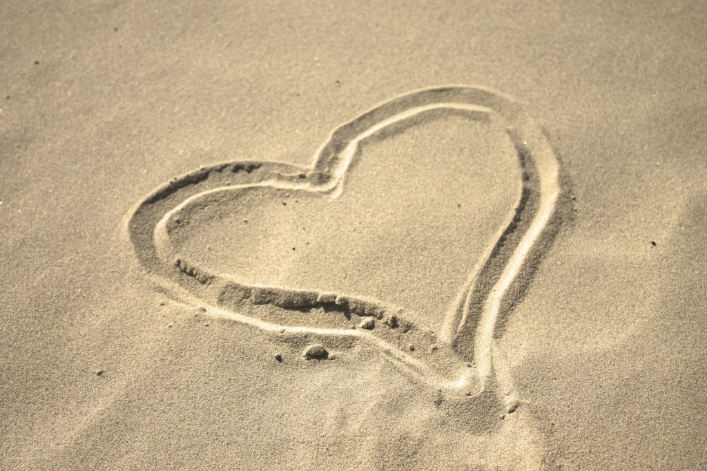 Sand Heart small