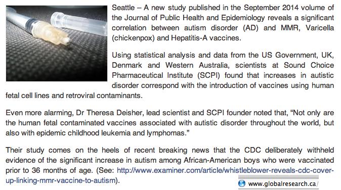 Fetal cells Vaccines