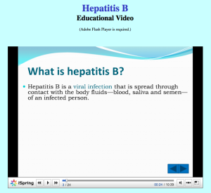 Hepatitis B Video