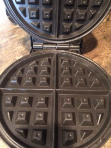 Belgium style waffle makers have larger indentations